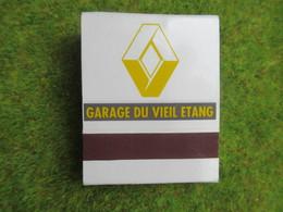 Pochette D'Allumettes RENAULT  Garage Du VIEL ETANG 78180 MONTIGNY - Other