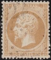 France   .    Yvert  .       21a        .     O     .    Oblitéré   .   /   .     Cancelled - 1862 Napoleone III