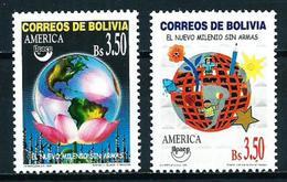 Bolivia Nº 1036/7 Nuevo - Bolivia