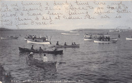 RPPC REAL PHOTO POSTCARD THOUSAND ISLANDS NY 1908 - Other