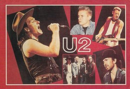 Groupe U2 (2 Scans) - Singers & Musicians