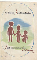 TRES TRES RARE LIVRET 3 PAGES.COMMISSARIAT GENERAL A LA FAMILLE. MARECHAL PETAIN.1940.ETAT CORRECT.VOIR SCANS.A SAISIR - Documentos