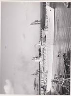 10PLC -photo Bateau - Paquebot ANCERVILLE -SHEKOU Chantiers Navals De Saint Nazaire 1962 - Boats