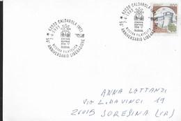 ANNULLO SPECIALE - CALDAROLA (MC) - MOSTRA FILATELICA - 50° LIBERAZIONE - 07.04.1995 SU CARTOLINA - Esposizioni Filateliche