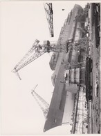 11PLC -photo Bateau - Paquebot ANCERVILLE -SHEKOU Chantiers Navals De Saint Nazaire 1962 - Bateaux