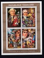 TOGO  :  Bicentenaire De La Révolution Française  1272 1273 PA 661 662 Neuf XX - French Revolution