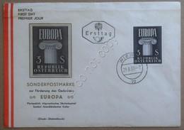 FDC First Day Cover - Austria Republik Osterreich 1960 - Europa - Francobolli