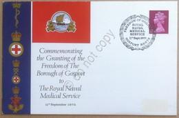 Storia Postale - Royal Naval Medical Servise - 11th Sept. 1970 - Francobolli