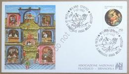 Storia Postale Italia 1983 - Cartoncino Annullo Fiera Di S. Ambrogio - Francobolli