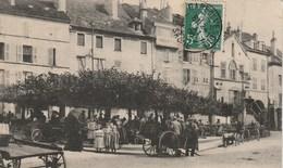 CPA 70 (Haute Saône) / VESOUL / PLACE DU MARCHE / ANIMEE - Vesoul