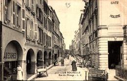 17] LA ROCHELLE   RUE  DU MINAGE  CAFE MOLIERE - La Rochelle