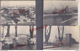 Au Plus Rapide Port De Marseille Années 20 Bateau Pont Transbordeur Quai Beau Format - Bateaux