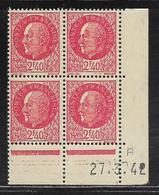 FRANCE  ( FCD4 - 348 )  1941  N° YVERT ET TELLIER  N° 519  N** - 1940-1949