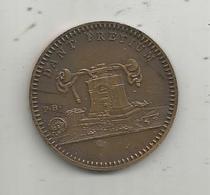 Médaille , Foire De Paris , Souvenir D'une Visite Au Stand De La Monnaie ,1958 , DANT PRETIUM , 2 Scans, Frais Fr 2.00 E - Professionnels / De Société