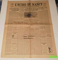 L'écho De Nancy Du 20 Et 21 Mai 1944.(LVF)-Sacha Guitry(nouveau Film) - Revues & Journaux