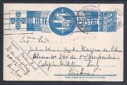 Postcard Stationery Design Almada Negreiros. Sign Taurus, Pisces, Aquarius And Scorpio. Militar School. Lisbon. - Astrologie