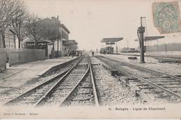 52 BOLOGNE LIGNE DE CHAUMONT - France