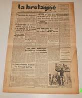 La Bretagne Du 13 Juillet 1943.(Politique Patatière Bretonne) - Revues & Journaux