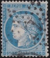 France   .    Yvert  .       37      .     O     .    Oblitéré   .   /   .     Cancelled - 1870 Siège De Paris
