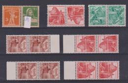 SUISSE 1914-38:  Joli Lot De Paires Neuves** - Schweiz