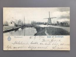 Zevenbergen - Roodevaart - Molen - 1900 - Zevenbergen