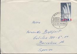 3407   Carta Berlin 1974,25 Jahrestag Aufhebung Der Blockade, 25 Aniversario Levantando El Bloqueo - [5] Berlijn