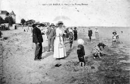 CPA De La Baule (Loire Atl.) - La Plage Benoit. Edition Vasselier, N° 1557. Circulée En 1918. Bon état. - La Baule-Escoublac