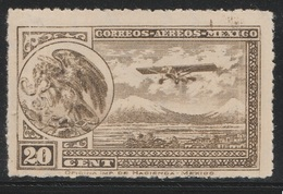 Mexico 1930 - Sc C23, 20cts - Mexican Eagle - AIR MAIL - MNH - Mexico