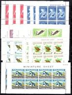Nouvelle-Zélande 16 Blocs-feuillets Neufs **/* 1961/1966. B/TB. A Saisir! - Blocks & Sheetlets