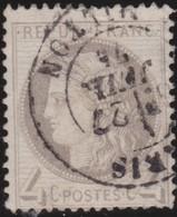 France   .    Yvert  .       52    .     O     .    Oblitéré   .   /   .     Cancelled - 1876-1878 Sage (Type I)
