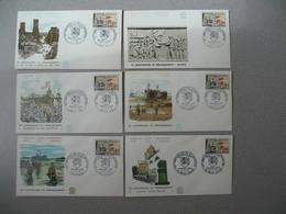 FDC 1964 France N° 1409 Débarquement De Normandie Et De Provence Cachet  XX è Anniversaire De La Libération Paris - FDC