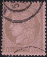 France   .    Yvert  .       54      .     O     .    Oblitéré   .   /   .     Cancelled - 1876-1878 Sage (Type I)