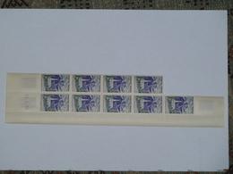 Bloc 9 Timbres YT N° 1241 Coin Daté 24 3 60 - Esquina Con Fecha