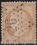 France   .    Yvert  .       55      .     O     .    Oblitéré   .   /   .     Cancelled - 1876-1878 Sage (Type I)