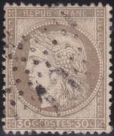 France   .    Yvert  .       56      .     O     .    Oblitéré   .   /   .     Cancelled - 1876-1878 Sage (Type I)