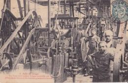 Val-des-Bois Harmel Frères Filature De Laine Salle De Lavage Circulée En 1905 - Autres Communes