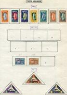 13138 LITUANIE Collection Vendue Par Page  PA 1/7, 15/6, 18/20  *   1921-22   B/TB - Lithuania
