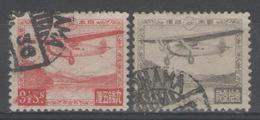 JAPON:  PA.n°3A+6 Oblitérés        - Cote 30€ - - Poste Aérienne