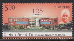 INDIA 2019  125th Anniversary PUNJAB NATIONAL BANK 1v, , MNH(**) - Inde