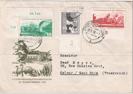 Agriculture  Faucheuse - Hacheuse, Arracheuse De Betteraves ( Machine Agricole ) 20 6 1958 - Agriculture