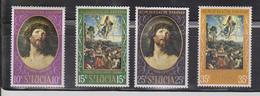 ST LUCIA Scott # 245-8 MH - Easter 1969 - St.Lucia (1979-...)