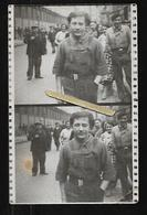 Cpa St004664 Carte Photo 2 Vues Juillet 1937, Ouvriers - Syndicats