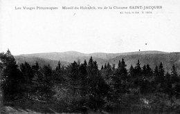 Massif Du Honeck Vu De La Chaume St Jacques - France