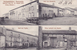 (57) - Rezonville Schlachtfelde Carte Allemande - Sarrebourg