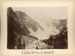 Glacier  Du Casset - Alte (vor 1900)
