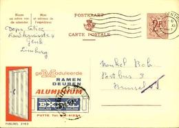 BELGIQUE - Publibel De Genk Pour Bruxelles En 1967 , Pub Portes - L 30994 - Publibels