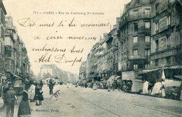 75  PARIS 12e AR   RUE DU FG ST ANTOINE - Arrondissement: 12