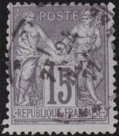 France   .    Yvert  .      66       .     O       .    Oblitéré   .   /   .     Cancelled - 1876-1878 Sage (Type I)