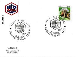 ITALIA - 1985 RIMINI (FO) 40° Anniv. ACLI Associazioni Cristiane Lavoratori - Organizzazioni