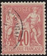 France   .    Yvert  .     70      .     O       .    Oblitéré   .   /   .     Cancelled - 1876-1878 Sage (Type I)